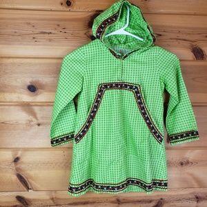 *Damaged*Kid vintage Halloween hooded dress girls